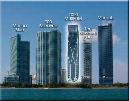 1000 Museum Condo Miami Condos For Sale Rent Floor Plans