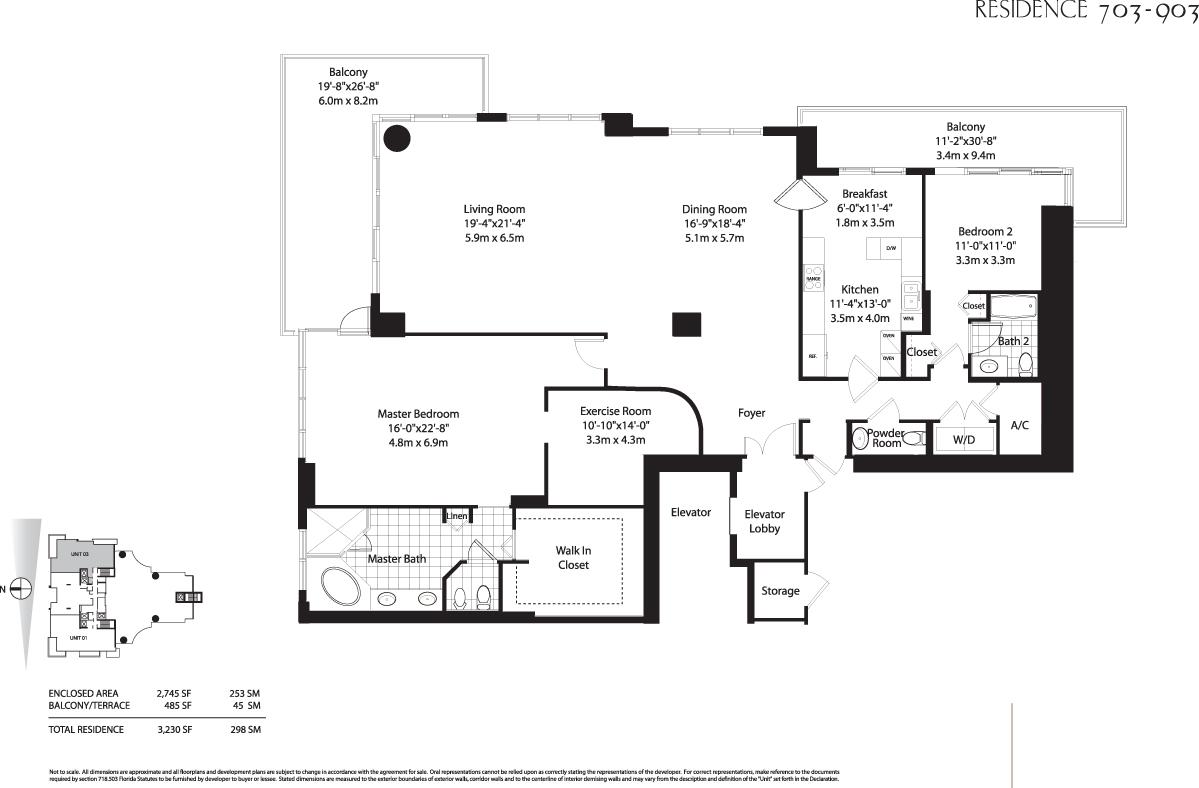 Floor Plans Key 28 Images Isola Brickell Key Condo