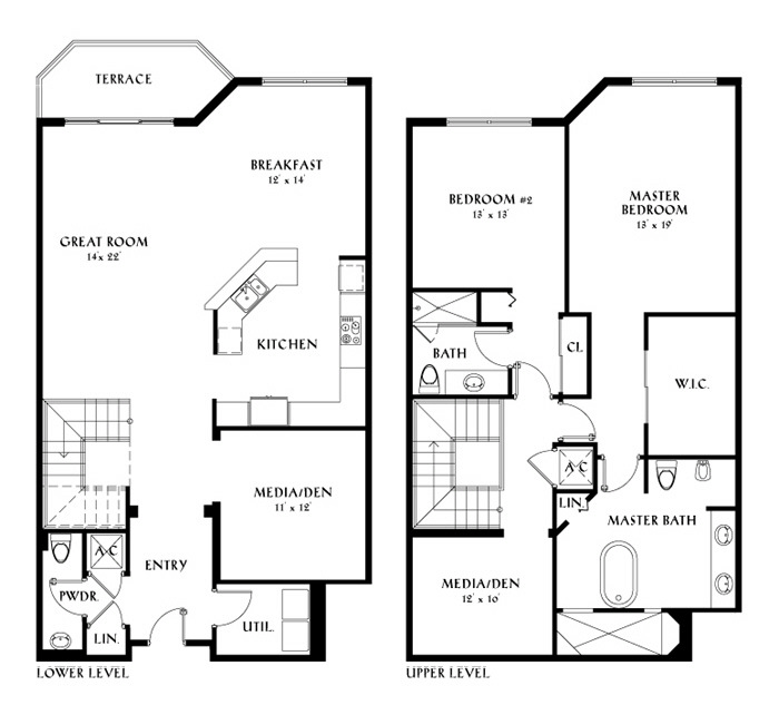 Peninsula ii aventura condos for sale rent floor plans for Two story condo floor plans