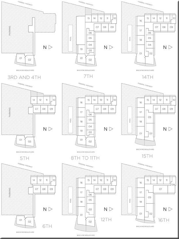Baltus House Condo Floor Plans