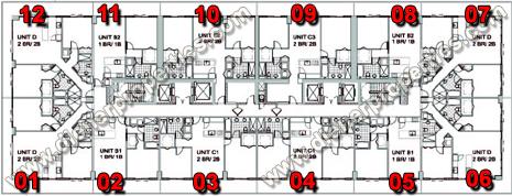 Axis Brickell Condo Floor Plans