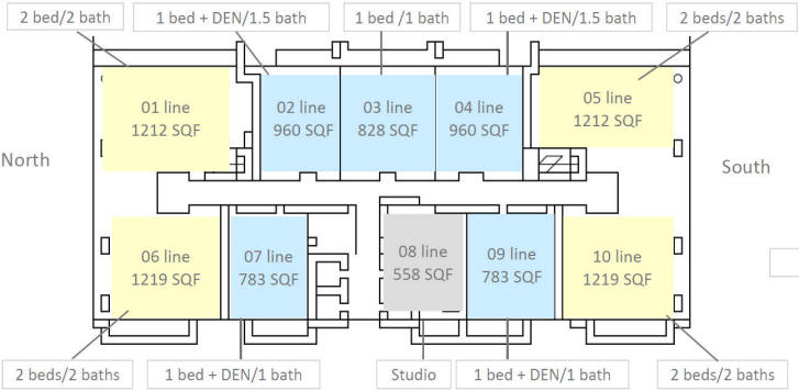 bond brickell floor plan - Floor Plan On Line