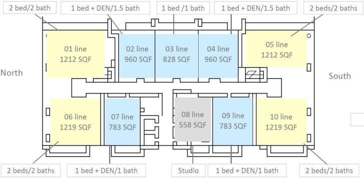 The Bond Brickell Condo Floor Plans