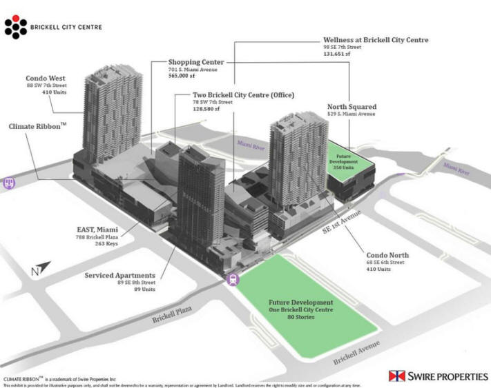 Brickell City Centre - Site Plan