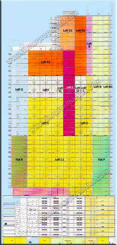 Infinity At Brickell Condo Floor Plans