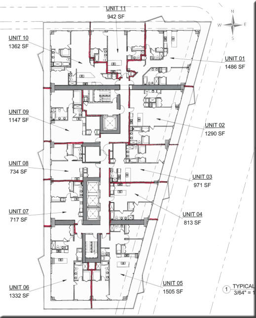 SLS Brickell Floor Plans