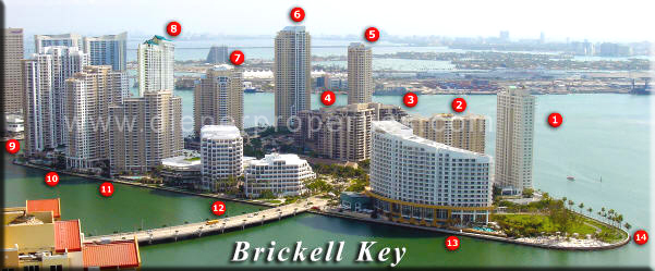 Brickell Key Condos For Sale And Brickell Key Apartments For Rent