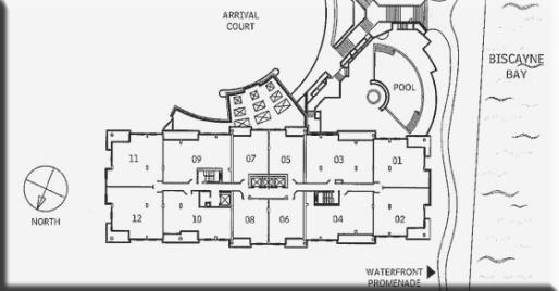 Courts Brickell Key Condo Floor Plans