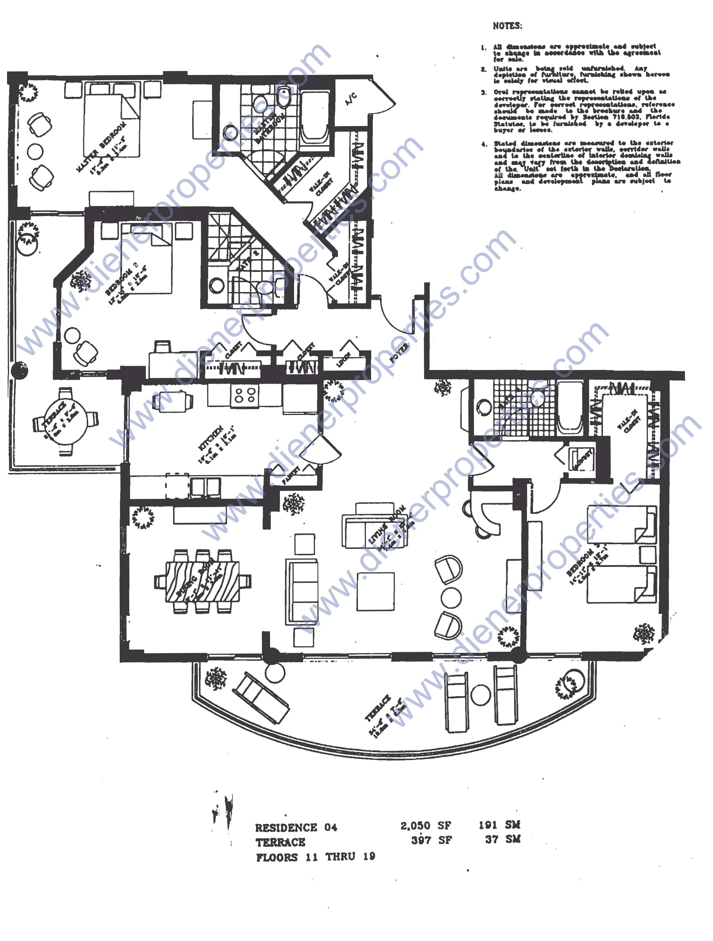 Brickell key one floor plans key home plans ideas picture for 1050 brickell floor plans