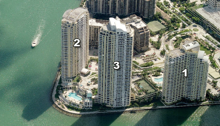 One Two Three Tequesta Point Condos