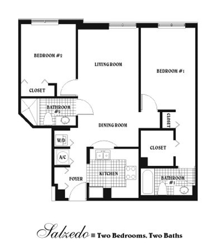 Douglas grand coral gables condo floor plans for Condo blueprints