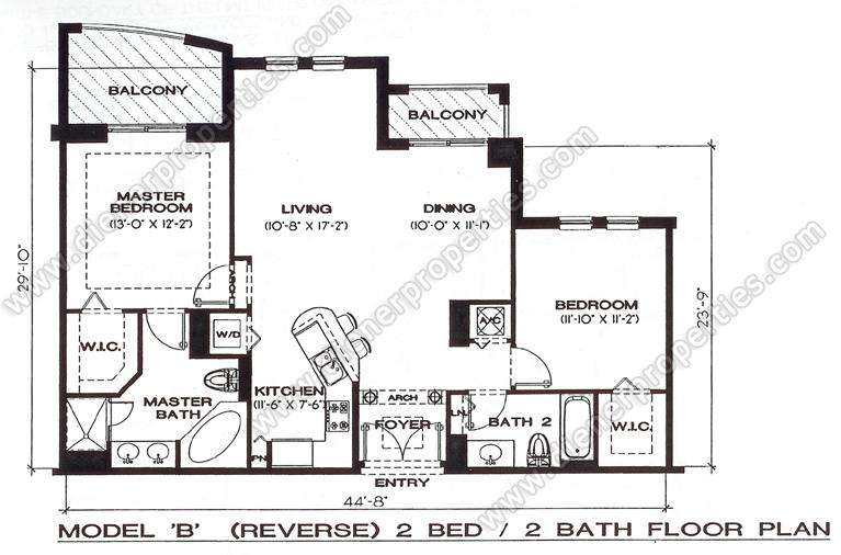 Grande Condo Dadeland For Sale Rent Floor Plans