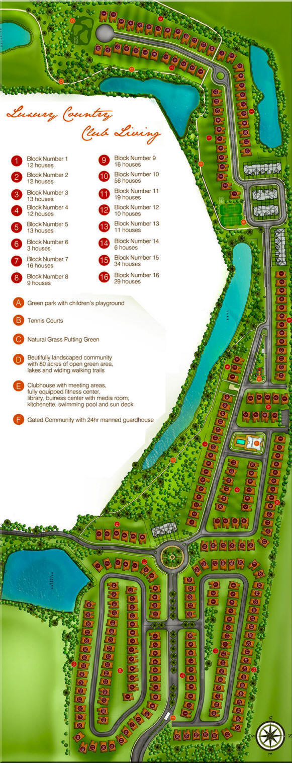 Las Ramblas Country Club Site Plan