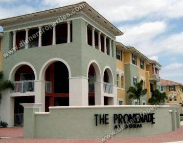 Promenade At Doral Townhome Villas Sale Rent Floor Plans