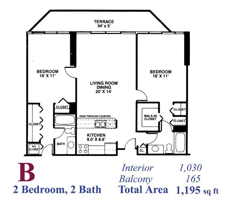 Grandview palace north bay village condo floor plans for Palace floor plans
