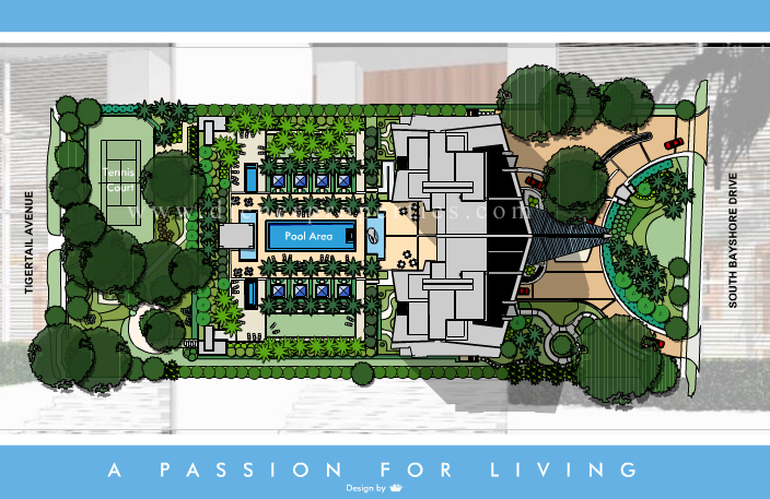 Grovenor house condo floor plans for Home site plan
