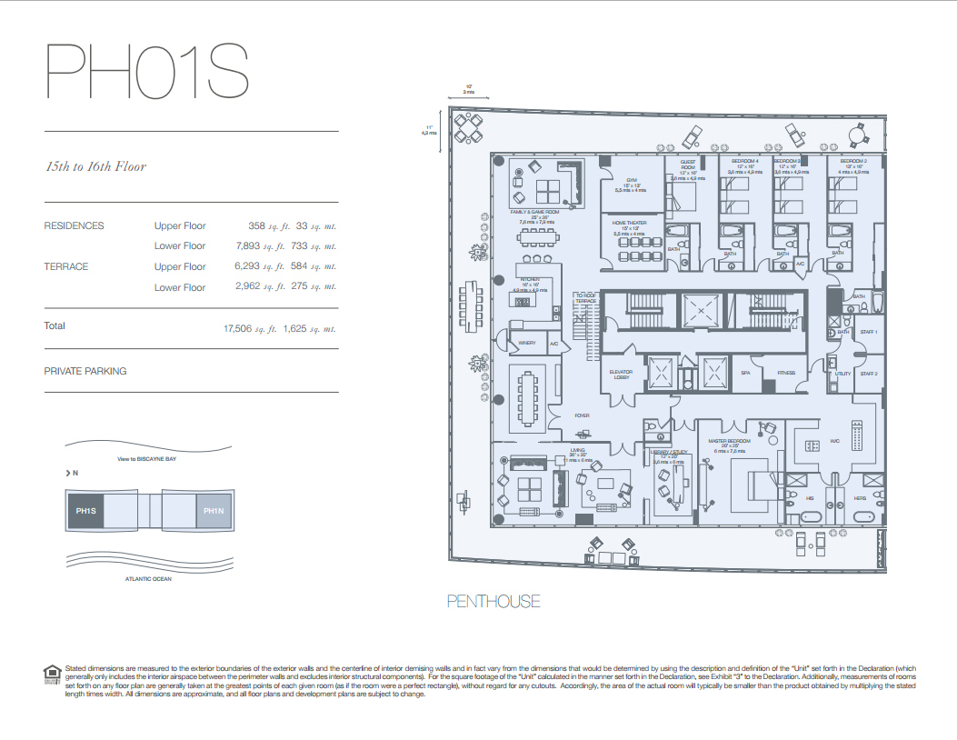 Oceana key biscayne condos for sale rent floor plans floor plan baanklon Choice Image