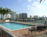 Sunset Harbour Condo Pool