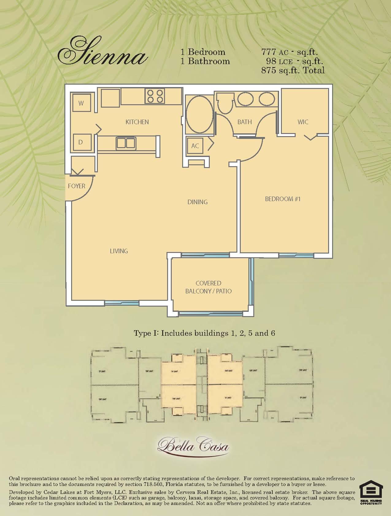 Bella Casa Ft Myers Condos Sale Rent Floor Plans