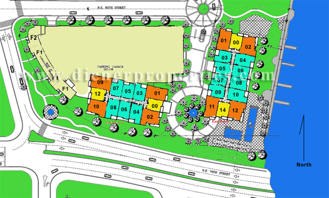 Oasis on the Bay Site Plan