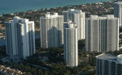 The Point of Aventura Condos Aerial